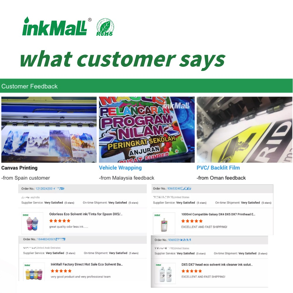 InkMall clean solution for eco solvent ink