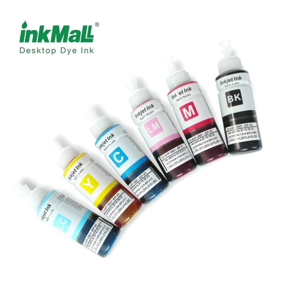 Dye inks for Epson T series desktop printer
