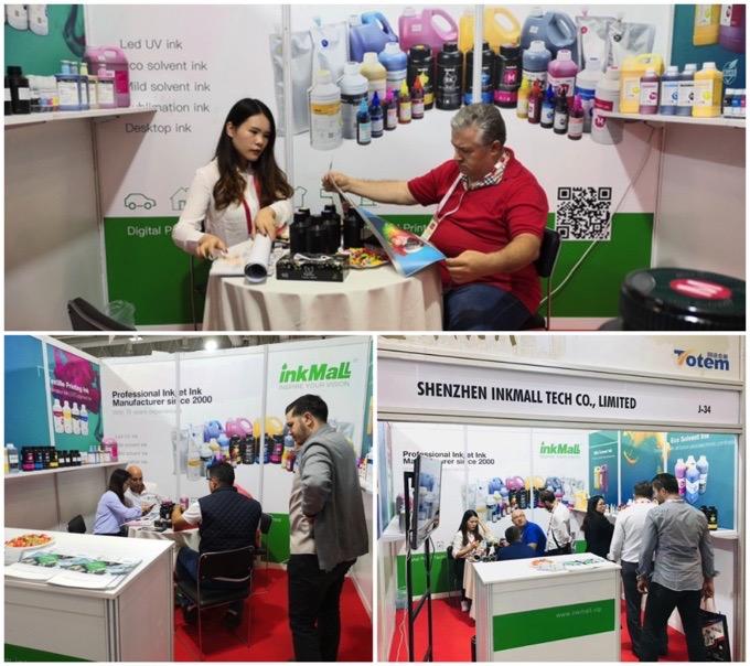 InkMall en Sign Istanbul Exhibition - Turquía 2019