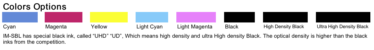 sublimation ink options
